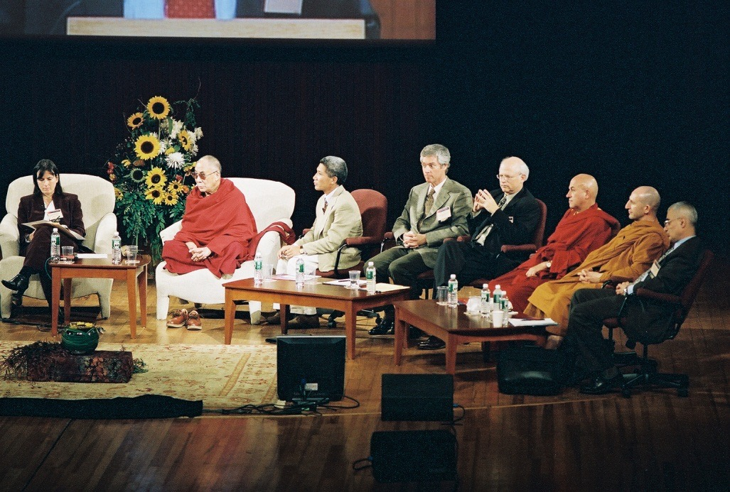 2003 with HHDL at MIT