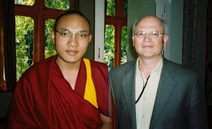 2003 with Karmapa